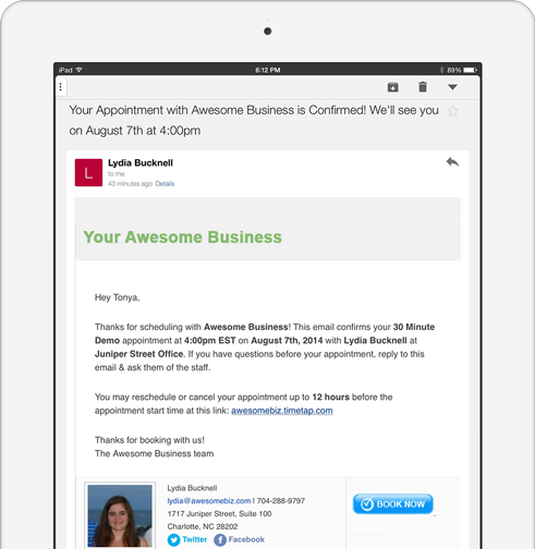 Send Clients Appointment Confirmation Amp Text Reminders