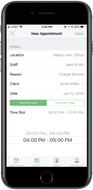 Sync your web scheduler to your mobile device