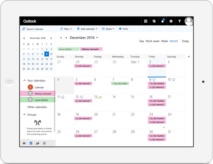 seamlessly integrate your booking system with your office 365 calendar