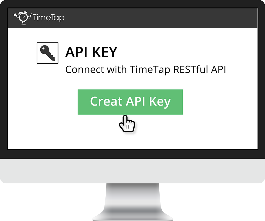 Get public and private keys for API connection